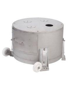Hobart 6430 0.75 HP Potato Peeler Cabinet Base with Peel Strainer