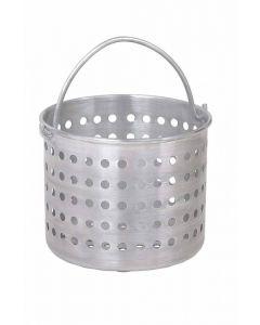 """Steamer Basket  Fits 32 qt Pans  10-1/4"""" D  1.6 Gauge Aluminum 69132"""