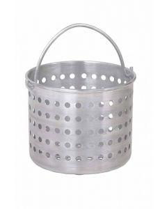 """Steamer Basket  Fits 40 qt Pans  12-5/8"""" D  1.6 Gauge Aluminum 69140"""