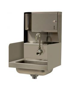 Advance Tabco 7-PS-131 Wall Mount Hand Sink with Hands-Free Electronic Faucet
