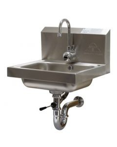 Advance Tabco 7-PS-51 Wall Mount Hand Sink with Hands-Free Electronic Faucet