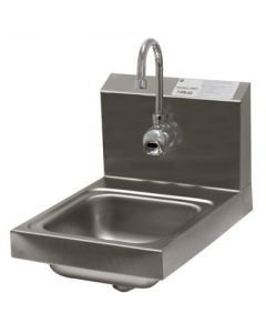 Advance Tabco 7-PS-53 Wall Mount Hand Sink with Hands-Free Electronic Faucet