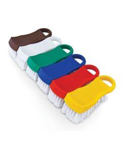 Brown Plastic Cutting Board Brush