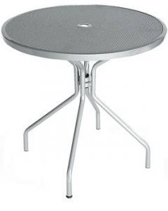 """Cambi, 48"""" Round Top Table with umbrella hole  Cambi 813"""