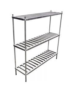 """8 Keg Aluminum Keg Rack 20"""" x 72"""" x 76"""""""