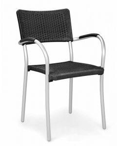 Artica Wicker Stackable Arm Chair 60150 (4/case)