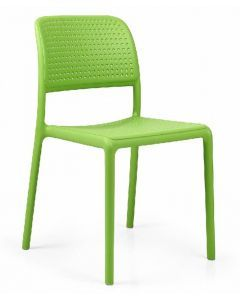 Bora Bistrot Stacking Fibreglass Resin Side Chair  40243 (4/case)