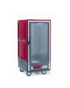 Metro C537-HFC-4 C5 3 Series Heated Holding Cabinet with Clear Door