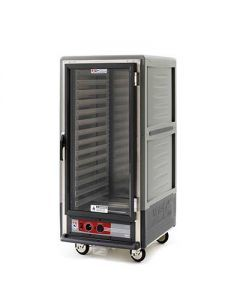 Metro C537-HFC-L C5 3 Series Heated Holding Cabinet with Clear Door