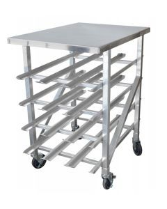 Can Rack, 4 Layers All Welded With Casters