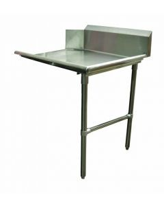 "Zanduco 36""   Right Side Clean Dish Table"