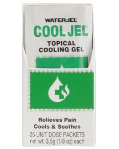 Water-Jel, Cool Jel, 3.5 g, 25/Box  S06643
