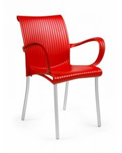 Dama, Stackable Resin Arm Chair  61650 (4/case)
