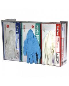 San Jamar Disposable Glove Dispenser, 3 box capacity  G0805