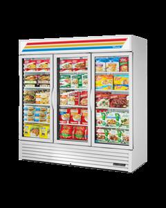 True GDM-72F-HC~TSL01 Glass Swing Door Freezer Merchandiser