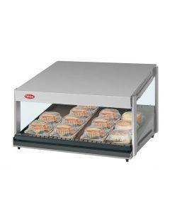"Hatco GRSDS-24 Glo-Ray 24"" Self Service Countertop Merchandising Display Warmer - 1 Shelf"
