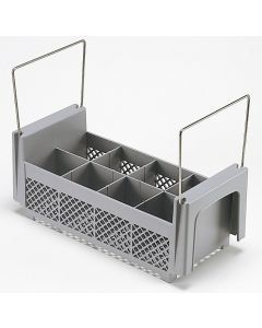 Cambro 8FB434  8 Compartment Half Flatware Basket with Handles    Case Pack 6