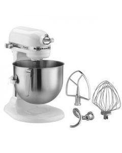 KitchenAid 7 Qt (6.6 L) Bowl Lift Stand Mixer with 1.3 HP Motor - White  KSM7581WH