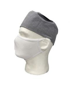 Antibacterial Washable Cotton Face Mask - White - 10/Pack