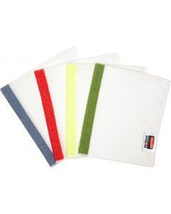"Rubbermaid HYGEN™ 16""  x19""   Red Sanitizer Safe Microfiber Cloth   24/Pk"
