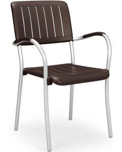 Musa Stackable Arm Chair 61050 (4/case)