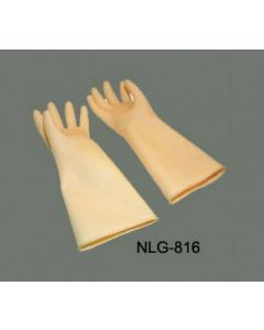"""Natural Latex Gloves 8 1/2""""  x 16"""", Ivory - 1 Pair     NLG-816"""