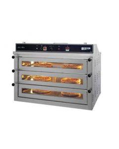 "Doyon PIZ3 - Electric Three Deck Countertop Convection Pizza Oven - 30"" x 21"" x 4.75"" Decks"