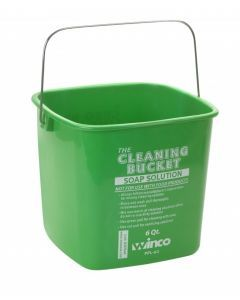 Cleaning Bucket, 6 Qt, Green Soap Solution     PPL-6G