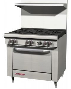 Southbend S36D S-Series Range 6 Burners, Natural Gas