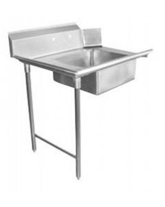 """Zanduco 36""""   Left Side Soiled Dish Table with Sink"""