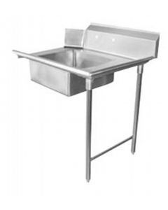 """Zanduco 36""""   Right Side Soiled Dish Table with Sink"""