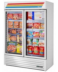 True GDM-49F-HC~TSL01 Glass Swing Door Freezer Merchandiser