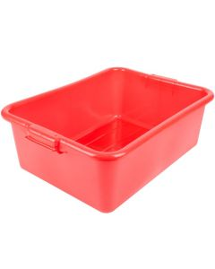 "Vollrath Traex® Color-Mate™ 7"" Food Box, Red"