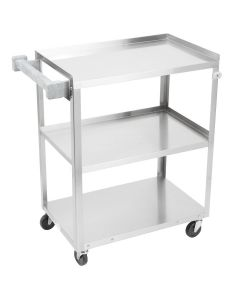 Stainless Steel Utility Cart  300 lb Capacity  97120