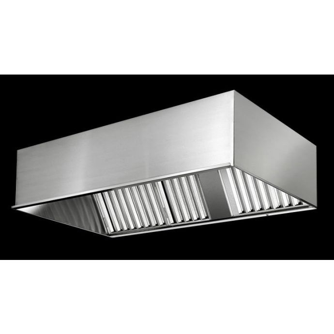 Fast Kitchen Hood Ps Ssh Mua F Wall Type Make Up Air Commercial Exhaust Hood For Limited Space Range Hood Filters Zanduco Us